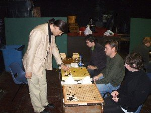 Catalin giving a simul